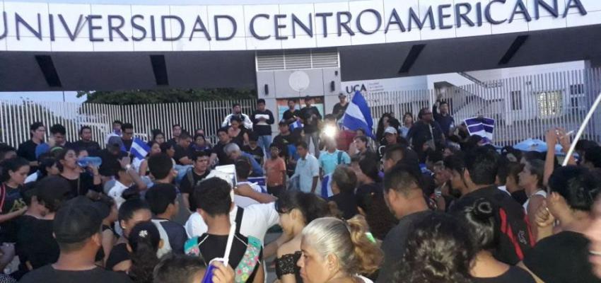 Solidaridad con Nicaragua y la UCA