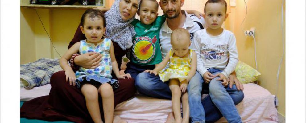 Ivan Benitez, Familias Sirias Refugiadas
