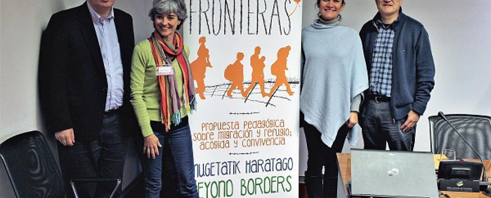 SJR en la Comisión de Convivencia y Solidaridad Internacional del Parlamento Navarra