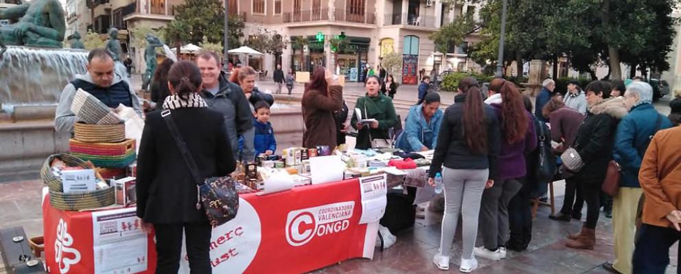 Empleadas del hogar se movilizan en Valencia