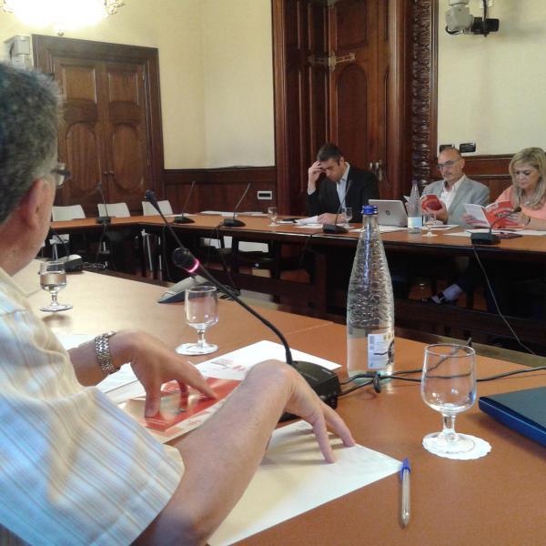 representantes parlamentarios de la Comisión de Trabajo
