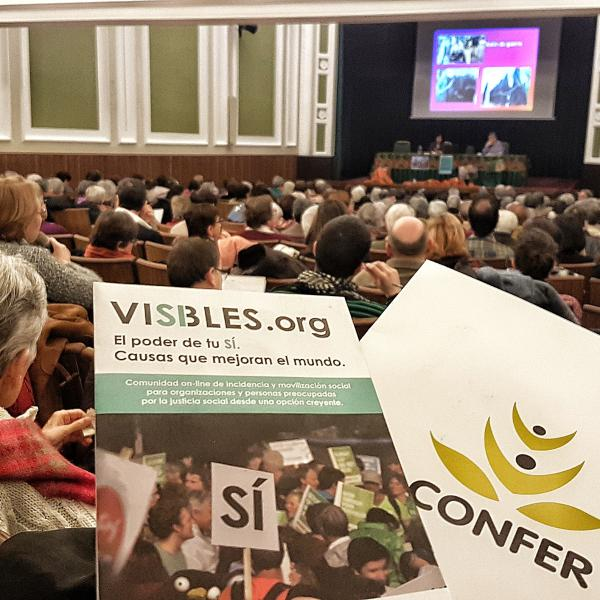 Visibles.org Confer presentaciones proyecto