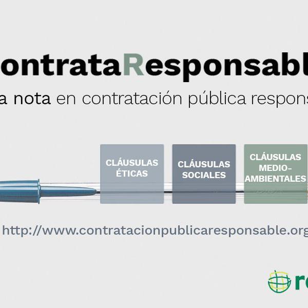 Compra Pública Ética, contrata responsable