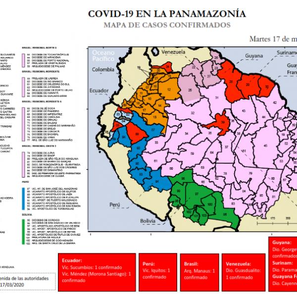 Situación COVID 19 en la Amazonía