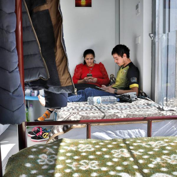 Familia rumana, vulnerables e invisibles con el COVID19