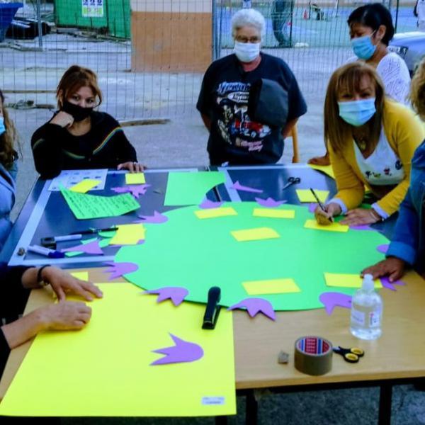 SJM Valencia, Area Mujer, Mujeres en Acción